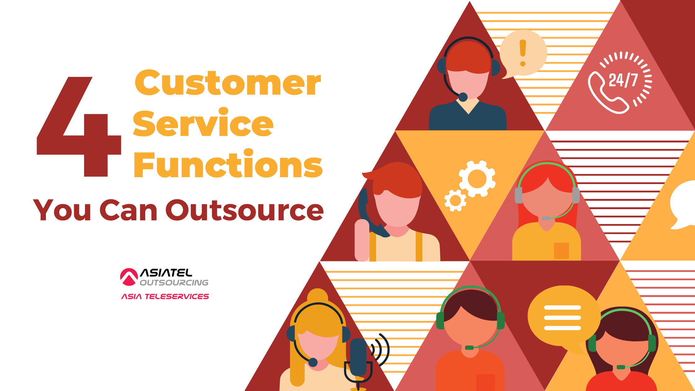 4 Customer Service Functions You Can Outsource